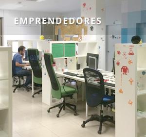 <span>Emprendedores</span><i>→</i>