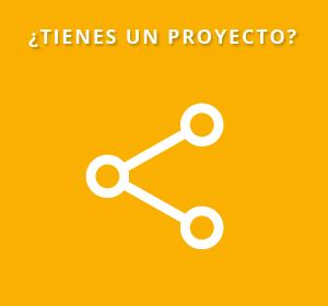 <span>¿Tienes un proyecto tecnológico?</span><i>→</i>